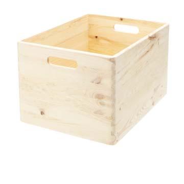 Boîtes et caisses en bois