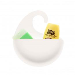Bac de rangement blanc pour salle de bain L