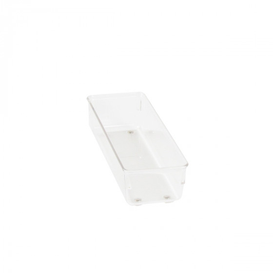 Organisateur étroit L en acrylique pour tiroirs