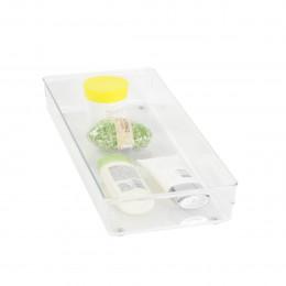 Organisateur XL rectangulaire en acrylique pour tiroirs