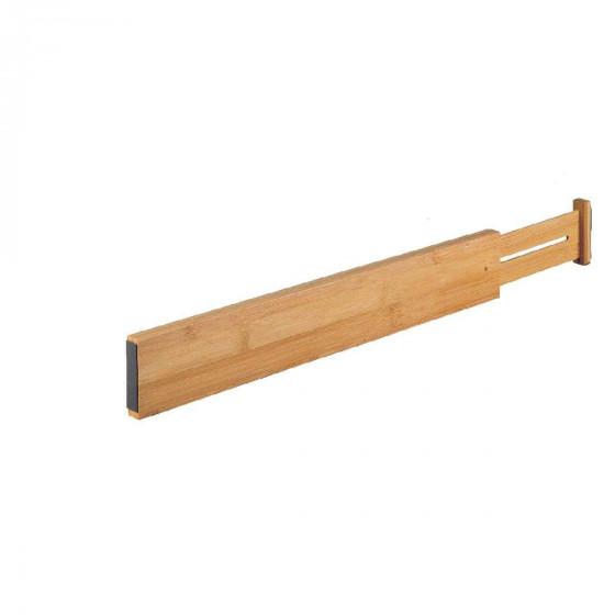 2 séparateurs extensibles en bambou