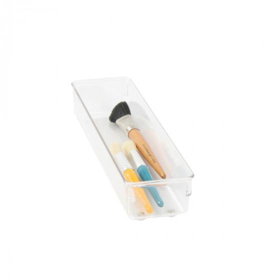 Organisateur étroit XL en acrylique pour tiroirs