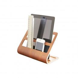 Rangement télécommandes et tablette