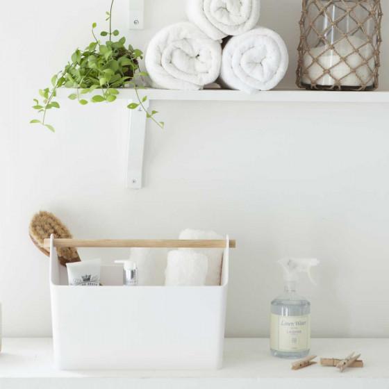 Bac blanc pour salle de bain