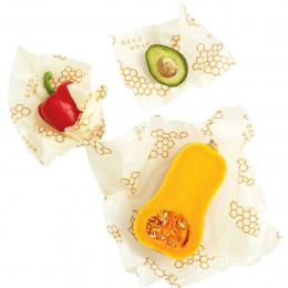 Set 3 papiers d'emballage réutilisable