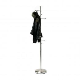 Porte manteaux en métal chromé