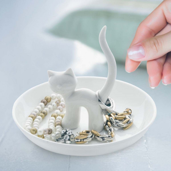 Coupelle à bijoux Chat