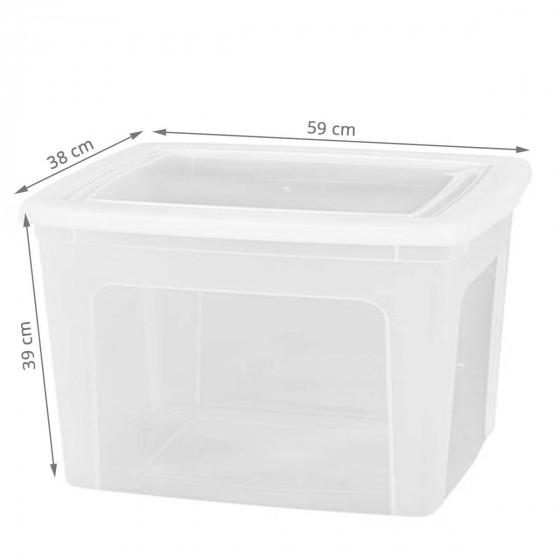 Boîte de rangement 70 litres
