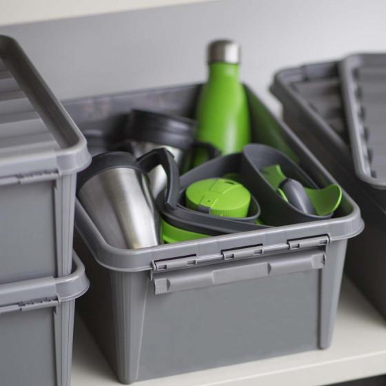 Boîte en plastique recyclé