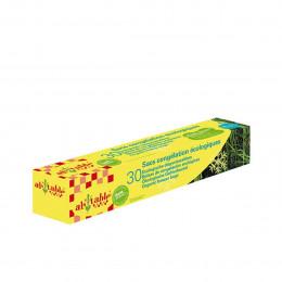 30 sacs de congélation écologiques et français 25x30 cm