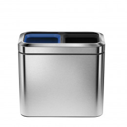 Poubelle de recyclage pour salle de bain 2x10 litres