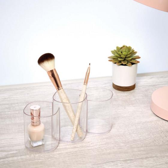 Pots de rangement maquillage