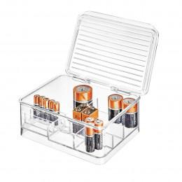Boîte de rangement pour piles