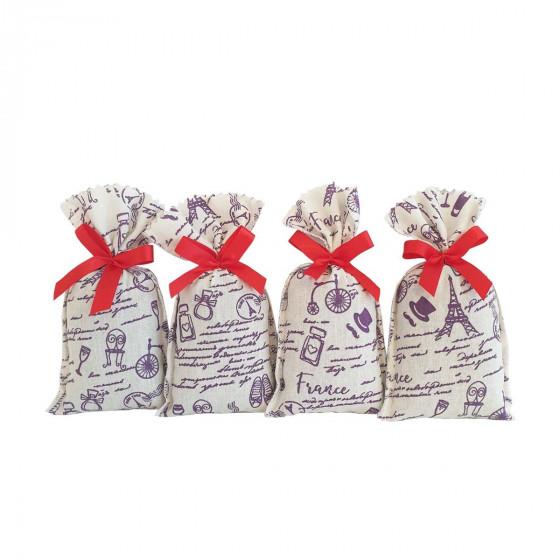 4 sachets de lavande 18g made in France