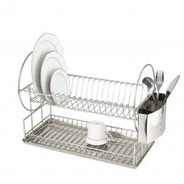 Egouttoir à vaisselle à 2 niveaux