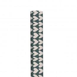 Rouleau de papier cadeau cœurs 3 mètres