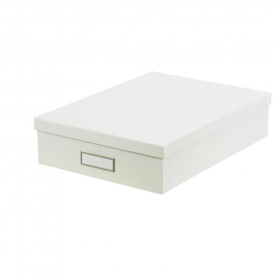 Boîte A4 en carton blanc