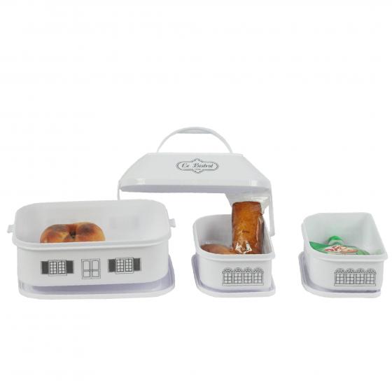 Lunch box bistrot à compartiments