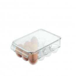 Boîte à 12 oeufs en plastique transparent