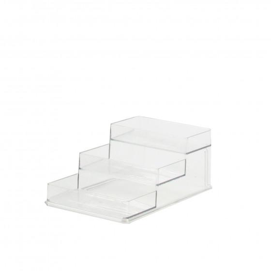 Etagère  en plastique transparent pour placard.Taille M
