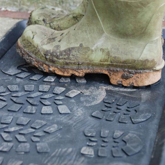 Plateau égouttoir pour bottes