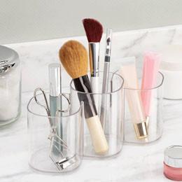 Rangement cosmétiques et maquillage