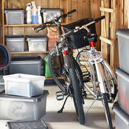 Rangement vélo, deux roues - garage