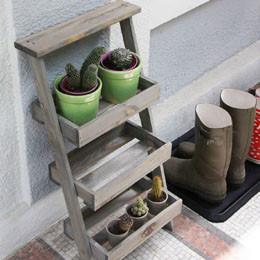 Rangement accessoires pour le jardin