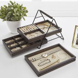 Rangement bijoux - boîtes compartimentées